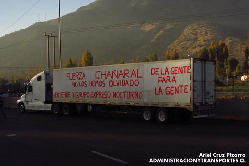 Camión ayuda Atacama - Peaje Angostura - CFGF37