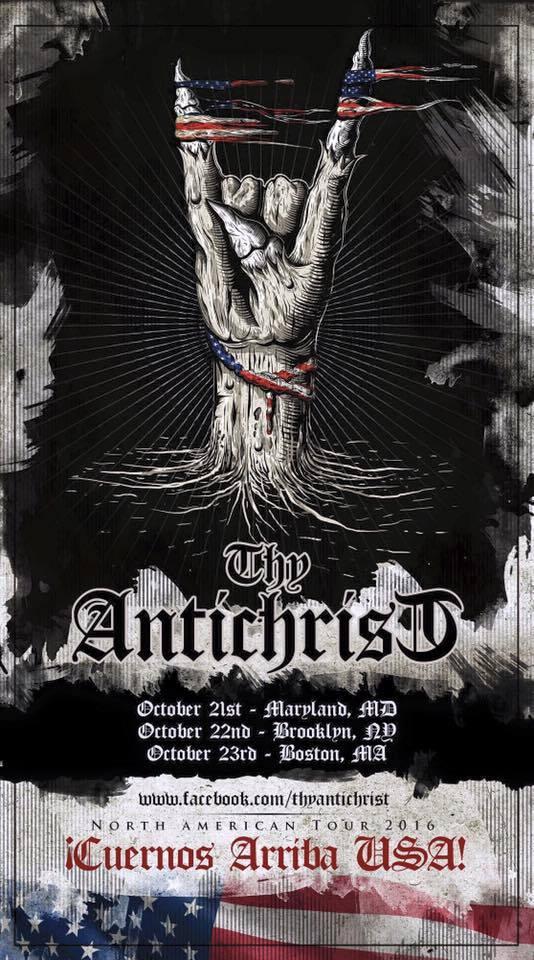 Thy Antichrist at El Gran Chaparral