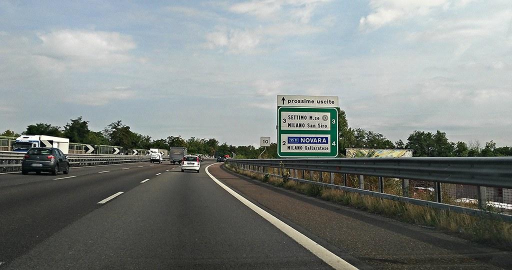 A50 E35 Tangenziale Ovest Milano  Direzione Nord  Flickr