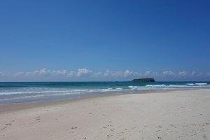 Cook Island voor de kust van Fingal Head