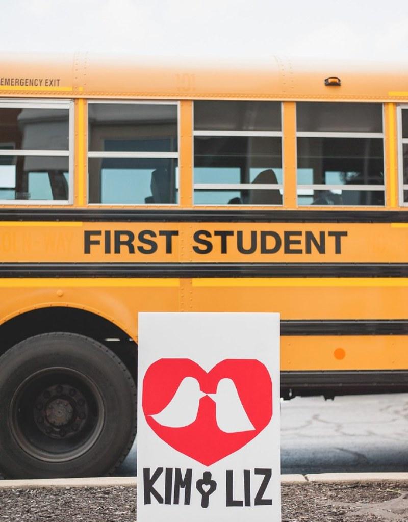 School Bus via @offbeatbride