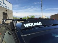 Thoughts/Review/Comparison Review: Yakima Roof Rack for ...