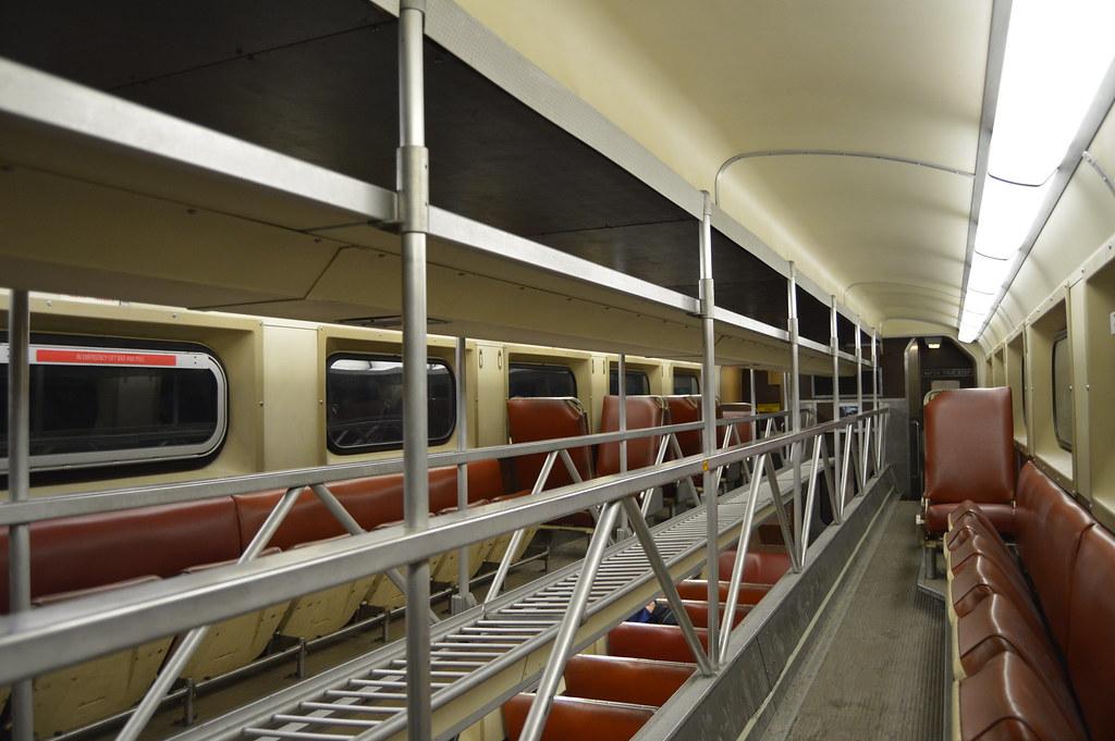 Old Style Metra Rail Car Interior  Arvell Dorsey Jr  Flickr