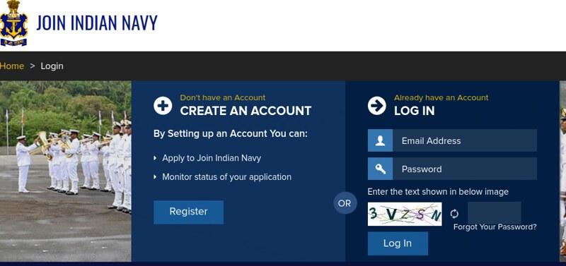Indian Navy Sailor MR recruitment