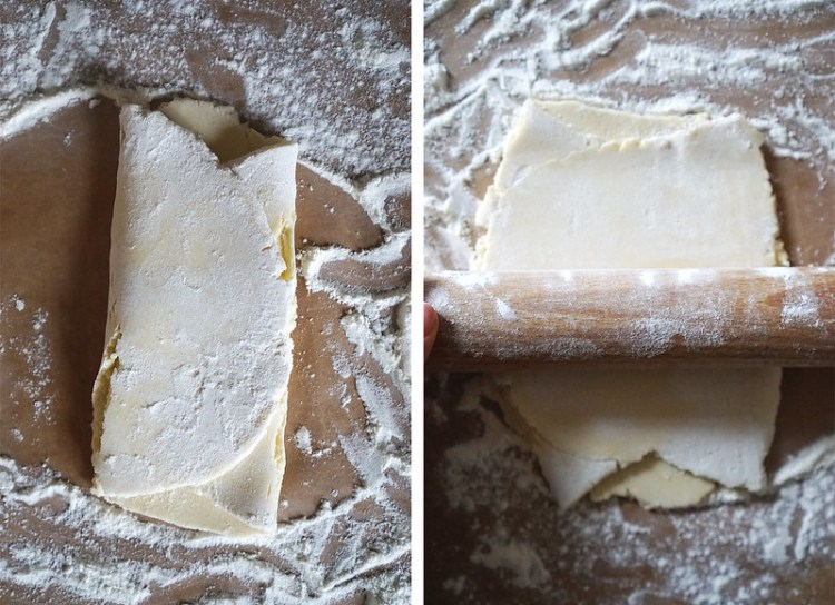 How to make a quick gluten free puff pastry alternative