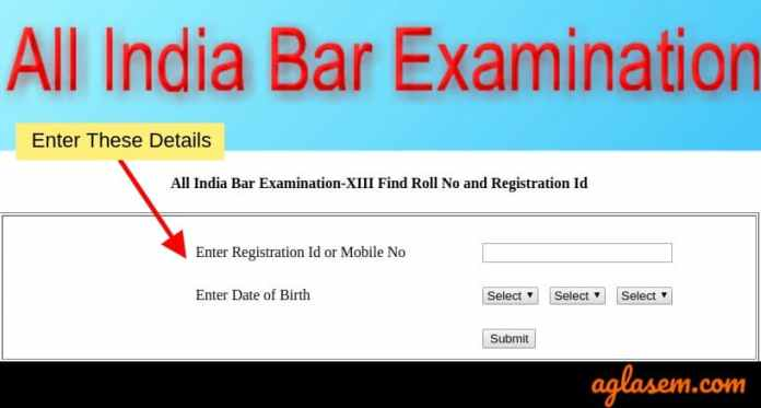 AIBE 2019 Result - Know Roll Number