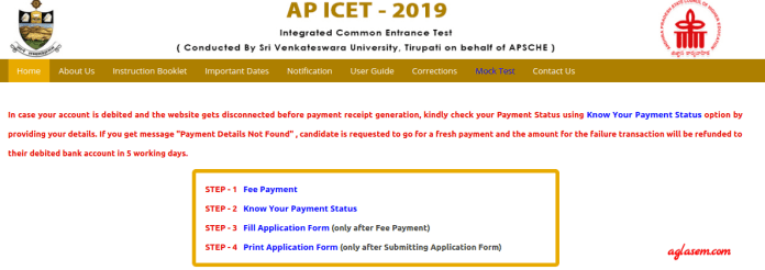 AP ICET 2019 Link Activates on Official Website