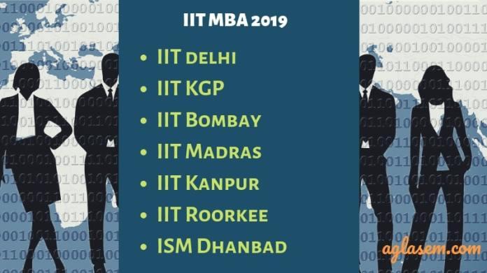 MBA via IITs