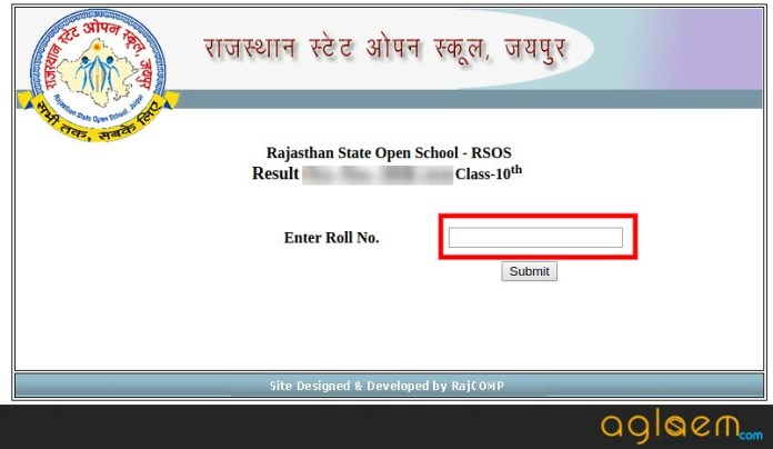 Rajasthan Open 10th Result 2019
