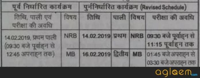 Bihar Board 12th Exam Date 2019