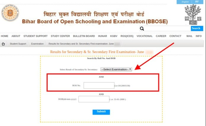 BBOSE 10th Result June 2019