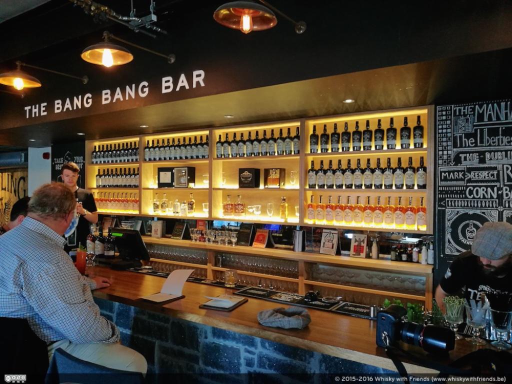 Nog even iets proeven in The Bang Bang Bar