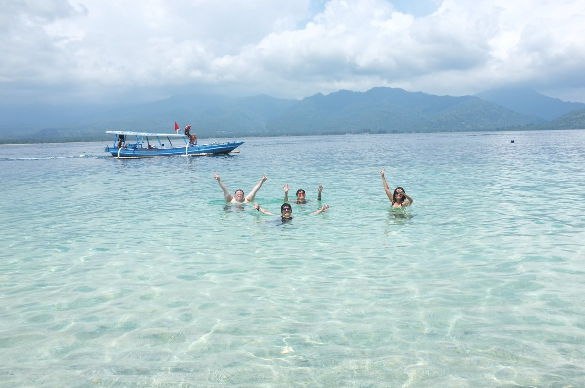 off to Gili Air