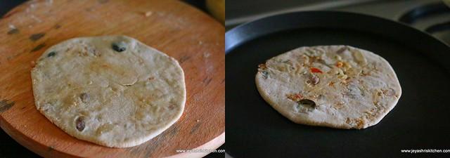 rajma cheese paratha 9