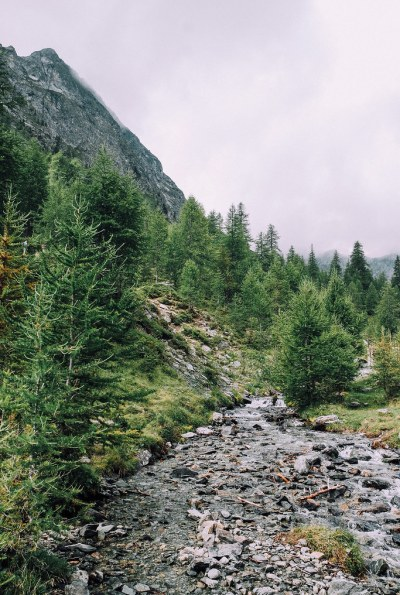 Ruscello, Val d'Ayas