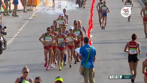 Lupita Gonzalez 20K Rio 2016