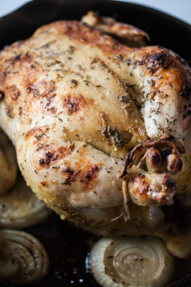 Lemon Thyme Roasted Chicken 6