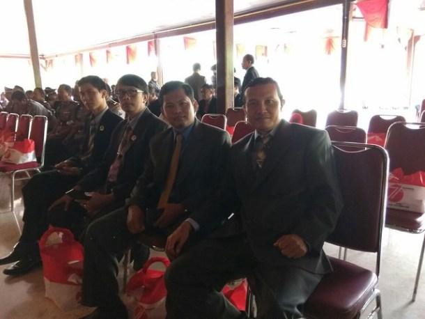 Komisioner KPU Tulungagung saat menghadiri undangan Rapat Paripurna Istimewa Terbuka DPRD Kab. Tulungagung(16/8)
