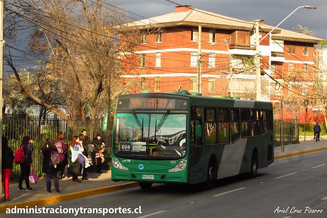 Transantiago E04 | Buses Vule | Caio Mondego H - Mercedes Benz / BJFT61