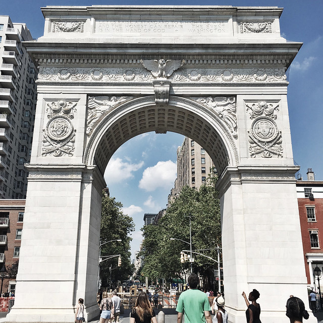Washington Square Park, NYC // www.girlandthegood.com