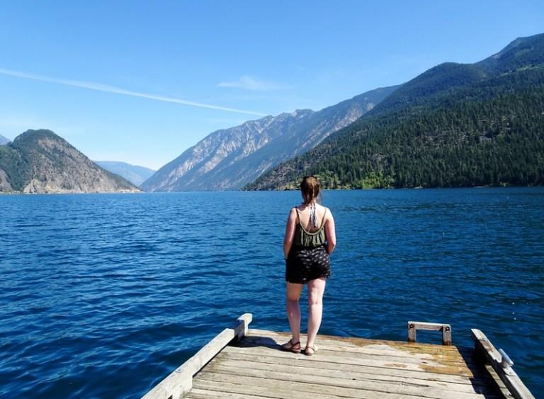 Anderson Lake, British Columbia, Canada - the tea break project solo travel blog