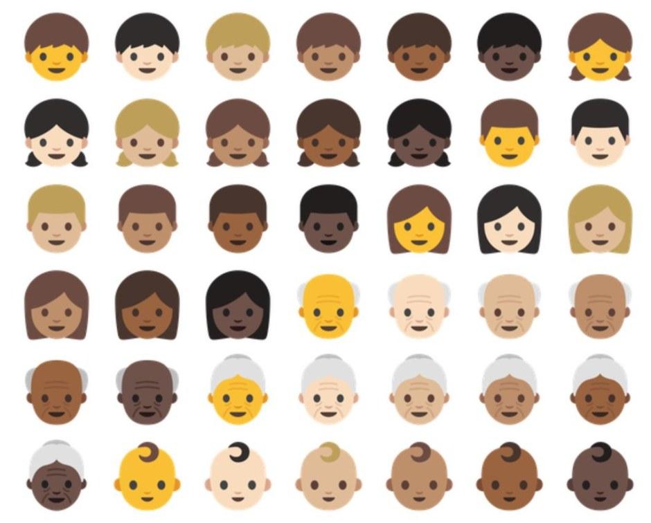 emoji android nougat 3