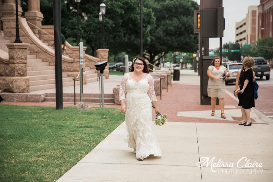 Tarrant County Courthouse Wedding