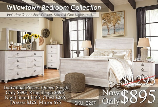 Willowtown Bedroom Collection