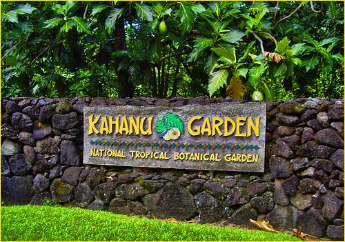 Kahanu Garden -- National Tropical Botanical Garden in Hana, Maui (HI) October 2014
