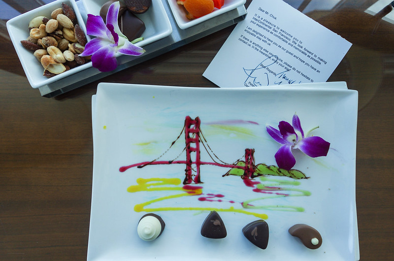 welcome amenities - intercontinental san francisco