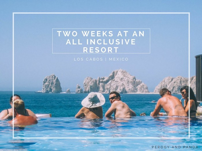 Two Weeks at an All Inclusive Resort | Riu Santa Fe in Los Cabos, Mexico