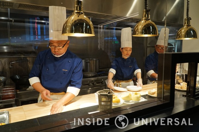 Inside Dongpo Kitchen at CityWalk Hollywood at Universal Studios Hollywood