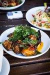 Crispy Eggplant, $17.90: Korn Thai, Crows Nest. Sydney Food Blog Review