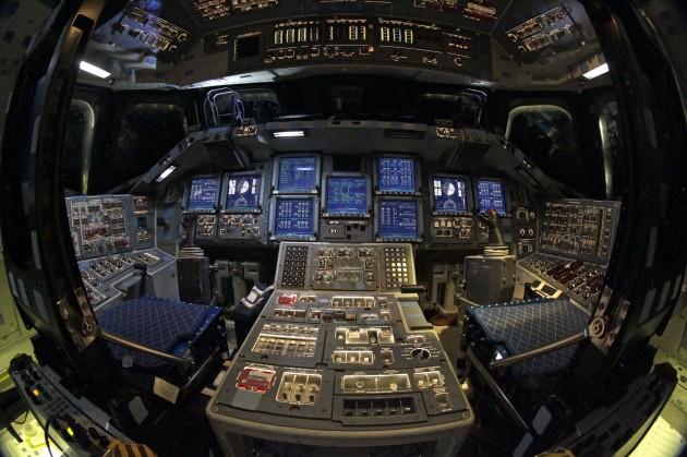 Best Future City 3d Wallpapers Inside Spaceship Cockpit