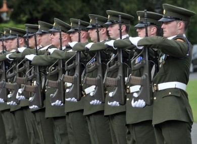 Image result for Irish military