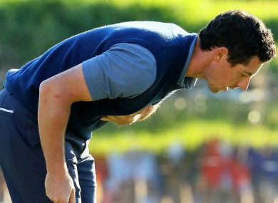 Image result for Rory Mcilroy bowing
