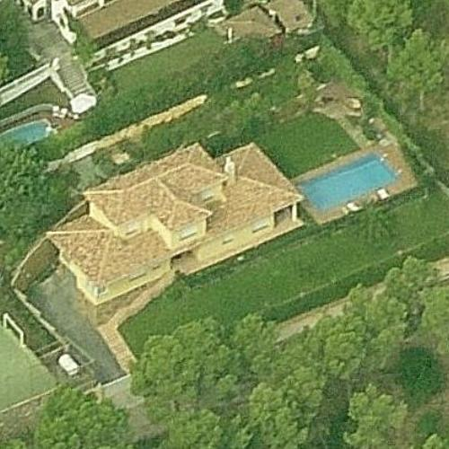 Lionel Messis House former in Castelldefels Spain