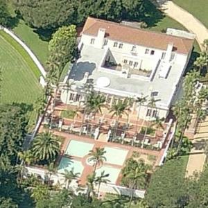 Scarface Mansion in Montecito CA  Virtual Globetrotting