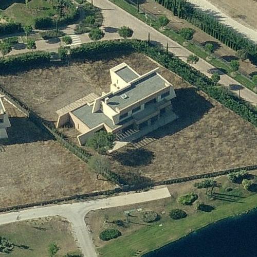 Cristiano Ronaldos House in Madrid Spain Google Maps 2