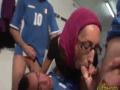 Arab Slut In Hijab Hot Threesome