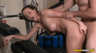 Amazing Lily Gets Fucked All Over The Gym