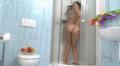Hairy Mom Showers Her Wet Cherry