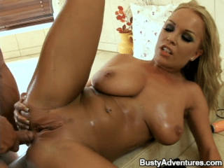Enticing Blonde Queen Appreciates The Penetration