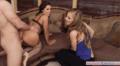Teen Model Seduced Into A Glorious Threesome