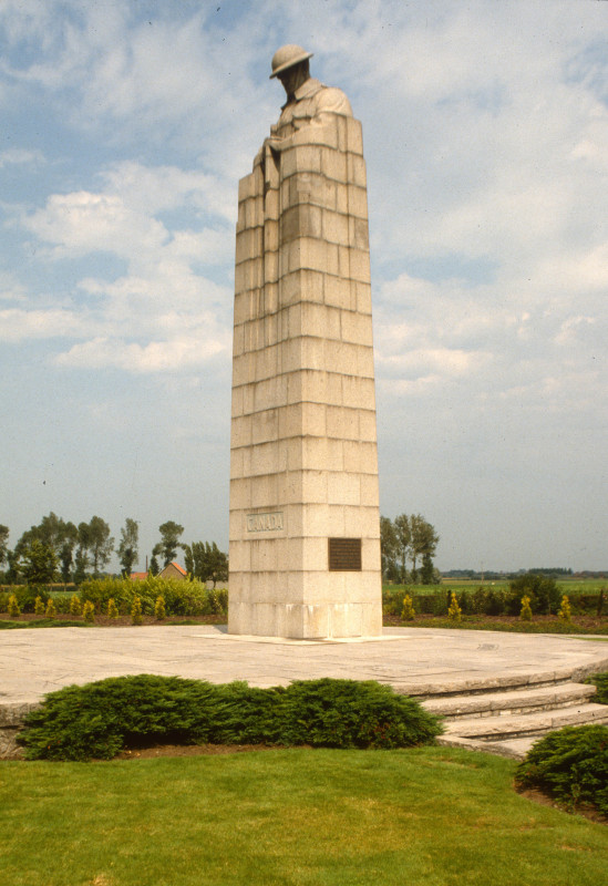 Belgium Sint Juliaan Canadian Memorial  The Twentieth