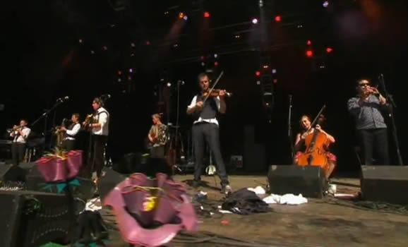Bellowhead At Glasonbury