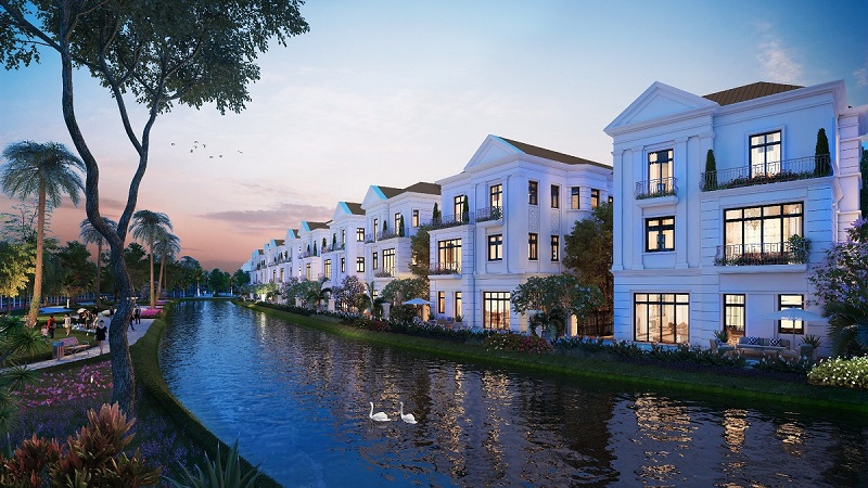 VINHOMES RIVERSIDE THE HARMONY VILLAS