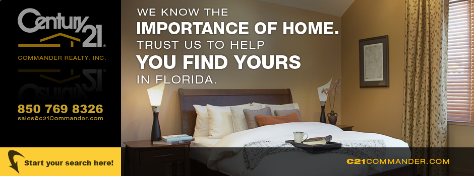 Let Century 21 Commander Help You Find Your Florida Property