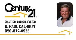 D. Paul Calhoun   REALTOR®   Panama City, Florida   Century 21 Commander Realty