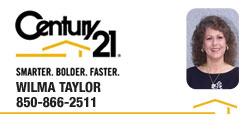 Wilma Taylor   REALTOR®   Century 21 Commander Realty   Panama City, Florida